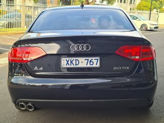2009 Audi A4 Black 4 Speed Automatic Sedan