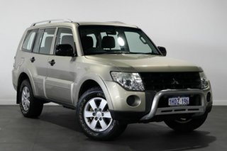 2008 Mitsubishi Pajero NS GLX Gold 5 Speed Sports Automatic Wagon.