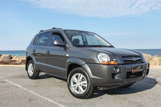 2009 Hyundai Tucson JM MY09 City SX Grey 4 Speed Sports Automatic Wagon.