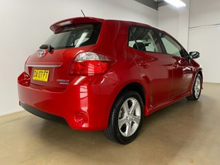 2010 Toyota Corolla ZRE152R MY10 Levin SX Red 6 Speed Manual Hatchback.