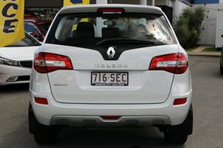 2011 Renault Koleos H45 MY11 Expression White Pearl 1 Speed Constant Variable Wagon