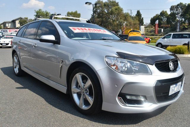 Used Holden Commodore VF II MY16 SV6 Sportwagon Wantirna South, 2016 Holden Commodore VF II MY16 SV6 Sportwagon Billet Silver 6 Speed Sports Automatic Wagon