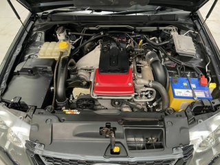 2010 Ford Falcon FG XR6 Turbo Ute Super Cab 50th Anniversary Black 6 Speed Sports Automatic Utility