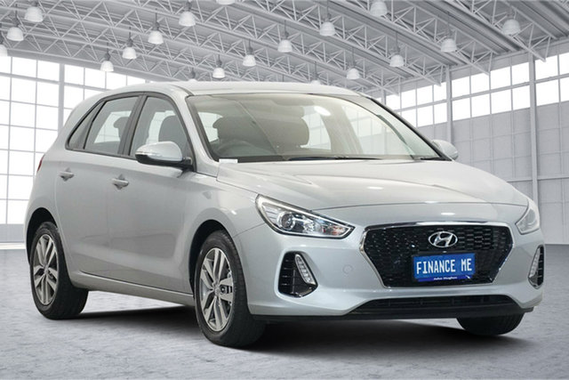 Used Hyundai i30 PD2 MY20 Active Victoria Park, 2019 Hyundai i30 PD2 MY20 Active Red 6 Speed Sports Automatic Hatchback