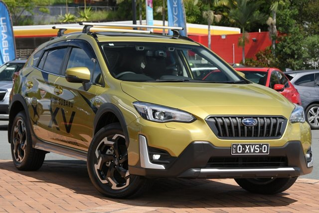 Demo Subaru XV G5X MY21 Hybrid S Lineartronic AWD Newstead, 2020 Subaru XV G5X MY21 Hybrid S Lineartronic AWD Plasma Yellow 7 Speed Constant Variable Wagon
