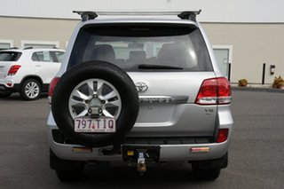 2010 Toyota Landcruiser UZJ200R MY10 GXL Silver 5 Speed Sports Automatic Wagon