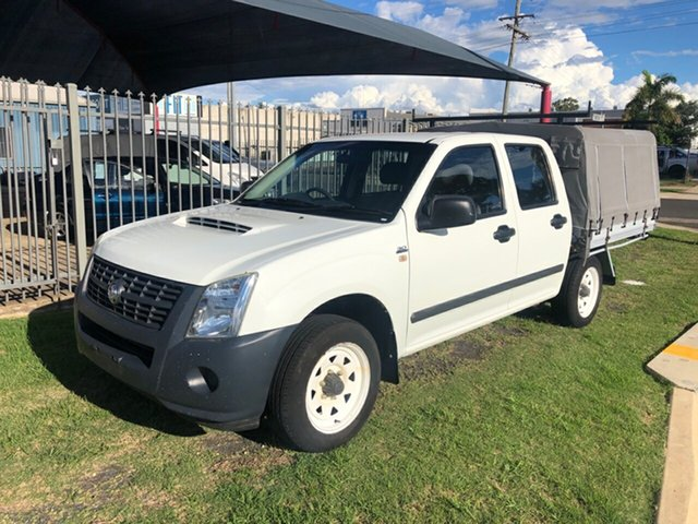 Used Holden Rodeo RA MY07 LX Toowoomba, 2007 Holden Rodeo RA MY07 LX White 5 Speed Manual Crew Cab Pickup