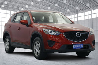 2014 Mazda CX-5 KE1031 MY14 Maxx SKYACTIV-Drive AWD Soul Red 6 Speed Sports Automatic Wagon.