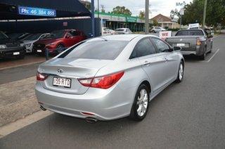 2011 Hyundai i45 YF MY11 Elite Silver 6 Speed Automatic Sedan.