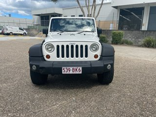 2010 Jeep Wrangler Unlimited JK MY09 Sport (4x4) White 5 Speed Automatic Softtop