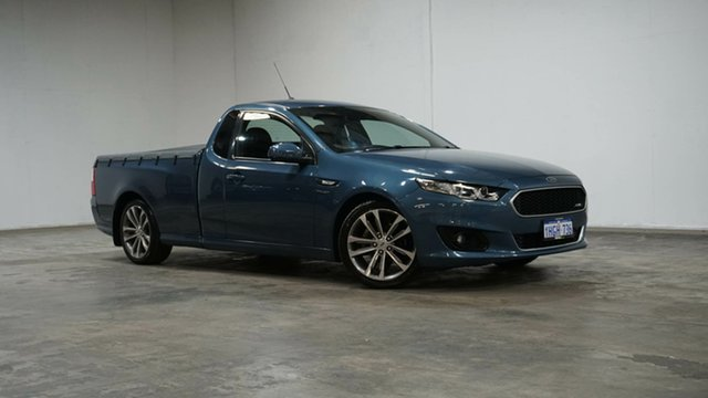 Used Ford Falcon FG X XR6 Super Cab Welshpool, 2016 Ford Falcon FG X XR6 Super Cab Blue 6 Speed Sports Automatic Cab Chassis