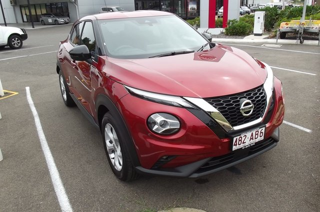 Demo Nissan Juke F16 ST+ DCT 2WD South Gladstone, 2020 Nissan Juke F16 ST+ DCT 2WD 7 Speed Sports Automatic Dual Clutch Hatchback