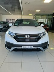 2020 Honda CR-V RW MY21 VTi FWD Platinum White 1 Speed Constant Variable Wagon.