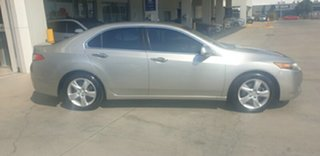 2008 Honda Accord Euro CU Luxury Silver 5 Speed Automatic Sedan.