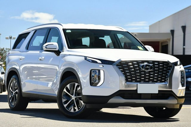 New Hyundai Palisade LX2.V1 MY21 AWD Aspley, 2021 Hyundai Palisade LX2.V1 MY21 AWD White Cream 8 Speed Sports Automatic Wagon