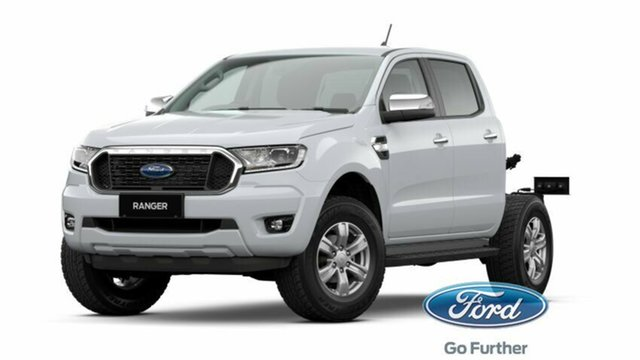 New Ford Ranger PX MkIII 2021.25MY XLT Double Cab Rutherford, 2021 Ford Ranger PX MkIII 2021.25MY XLT Double Cab Arctic White 6 Speed Sports Automatic