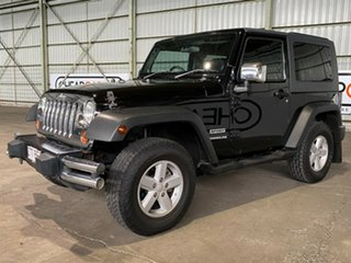 2007 Jeep Wrangler JK Sport Black 5 Speed Automatic Softtop.