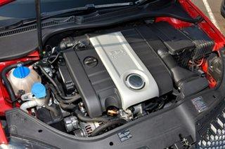 2007 Volkswagen Golf V MY07 GTi Red 6 Speed Manual Hatchback