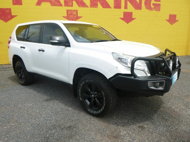 Used Toyota Landcruiser Prado GDJ150R GX Winnellie, 2015 Toyota Landcruiser Prado GDJ150R GX White 6 Speed Manual Wagon
