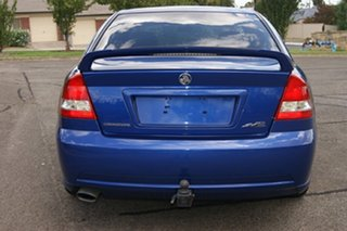 2006 Holden Commodore VZ MY06 SV6 Blue 5 Speed Auto Active Select Sedan.