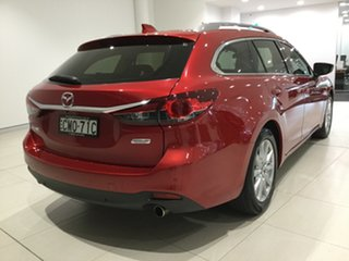 2013 Mazda 6 GJ1021 Touring SKYACTIV-Drive Soul Red 6 Speed Sports Automatic Wagon.