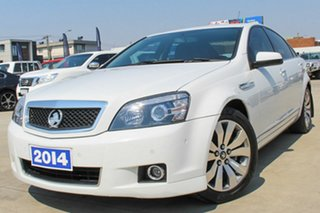 2014 Holden Caprice WN MY14 White 6 Speed Sports Automatic Sedan.