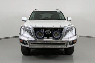 2017 Toyota Landcruiser GDJ150R Prado Altitude Spl Edt Crystal Pearl 6 Speed Automatic Wagon.