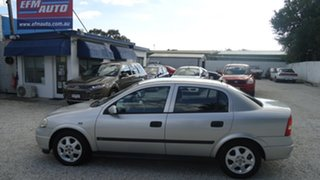 2001 Holden Astra TS CD Silver 5 Speed Manual Sedan.
