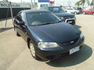 1998 Ford Laser KJ III (KM) LXI Blue 4 Speed Automatic Hatchback.