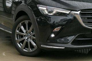 2021 Mazda CX-3 DK2W7A Akari SKYACTIV-Drive FWD LE Jet Black 6 Speed Sports Automatic Wagon.