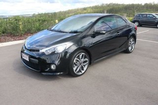 2014 Kia Cerato YD MY14 Koup Turbo Aurora Black 6 Speed Sports Automatic Coupe.