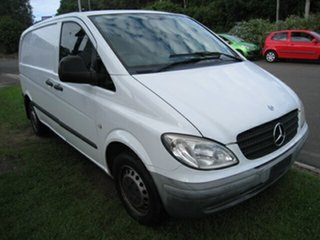 2006 Mercedes-Benz Vito 109CDI Compact White 6 Speed Manual Van