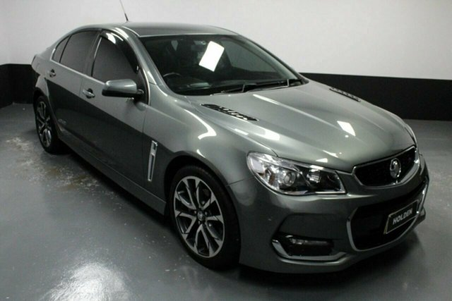 Used Holden Commodore VF II MY16 SS V Rutherford, 2015 Holden Commodore VF II MY16 SS V Prussion Stel 6 Speed Sports Automatic Sedan