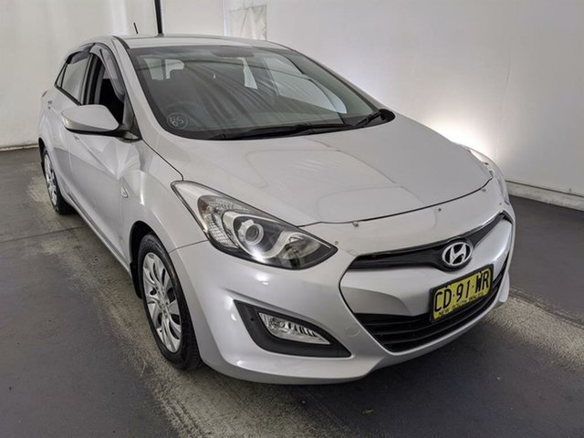 Used Hyundai i30 GD Active Maryville, 2013 Hyundai i30 GD Active Silver 6 Speed Sports Automatic Hatchback