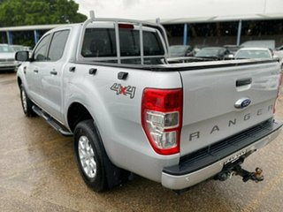 2017 Ford Ranger PX MkII XLS Double Cab Ingot Silver 6 Speed Manual Utility.