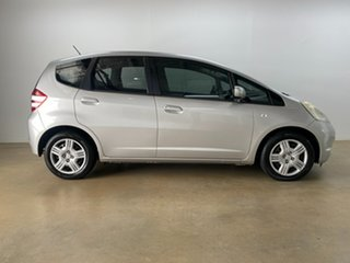 2010 Honda Jazz GE VTi Silver 5 Speed Manual Hatchback.