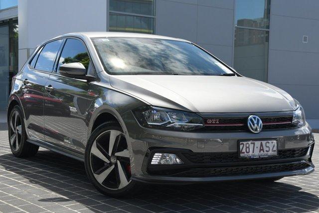 Demo Volkswagen Polo AW MY20 GTI DSG Newstead, 2020 Volkswagen Polo AW MY20 GTI DSG Limestone Grey 6 Speed Sports Automatic Dual Clutch Hatchback