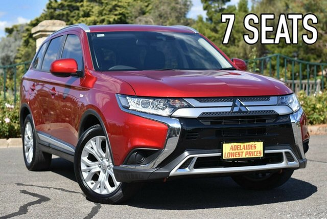 Used Mitsubishi Outlander ZL MY20 ES AWD Enfield, 2019 Mitsubishi Outlander ZL MY20 ES AWD Red 6 Speed Constant Variable Wagon