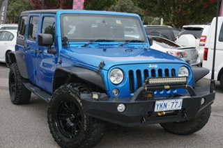 2014 Jeep Wrangler JK MY2014 Unlimited Sport Blue 5 Speed Automatic Softtop.