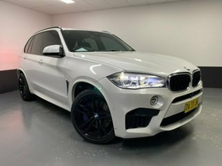 2017 BMW X5 M F85 Steptronic Mineral White 8 Speed Sports Automatic Wagon.
