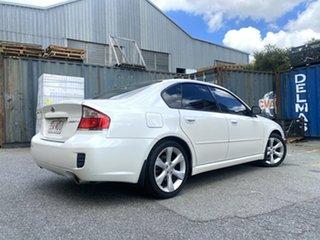 2008 Subaru Liberty B4 MY08 Luxury Edition AWD White 4 Speed Sports Automatic Sedan.