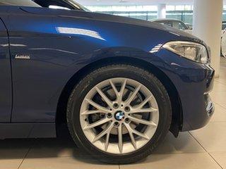 2017 BMW 220i F23 MY18 Luxury Line Deep Sea Blue 8 Speed Automatic Convertible.