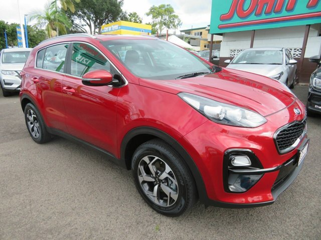 Used Kia Sportage QL MY19 Si 2WD Mount Gravatt, 2019 Kia Sportage QL MY19 Si 2WD Red 6 Speed Sports Automatic Wagon
