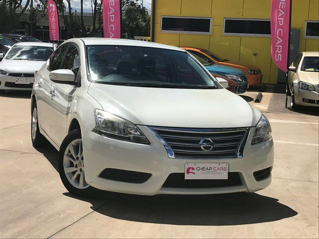 Used Nissan Pulsar B17 ST Toowoomba, 2013 Nissan Pulsar B17 ST White 1 Speed Constant Variable Sedan