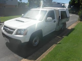 2009 Holden Colorado RC LX White 5 Speed Manual Cab Chassis