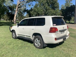 2013 Toyota Landcruiser VDJ200R MY12 Sahara Crystal Pearl 6 Speed Sports Automatic Wagon
