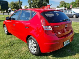 2011 Hyundai i30 FD MY11 SX Red 4 Speed Automatic Hatchback