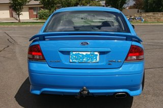 2007 Ford Falcon BF MkII XR6 Blue 6 Speed Auto Seq Sportshift Sedan.