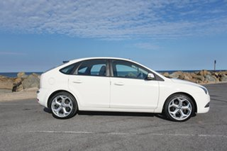 2007 Ford Focus LT TDCi White 6 Speed Manual Hatchback.