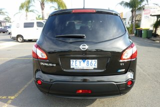 2012 Nissan Dualis J10 Series II MY2010 +2 X-tronic AWD Ti Black 6 Speed Constant Variable Hatchback